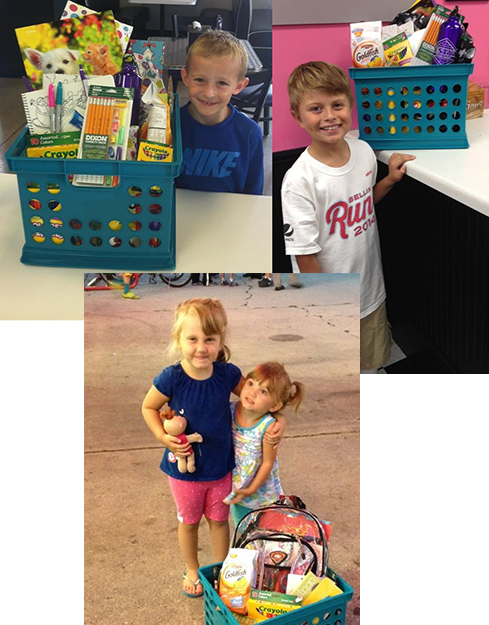 Back to School Winners