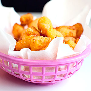 Cheese Curds at Zesty's Frozen Custard and Restaurant in Green Bay, WI