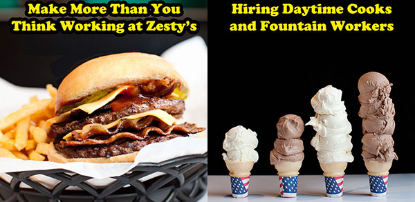 Make More than You Think Working at Zesty's Frozen Custard in Green Bay