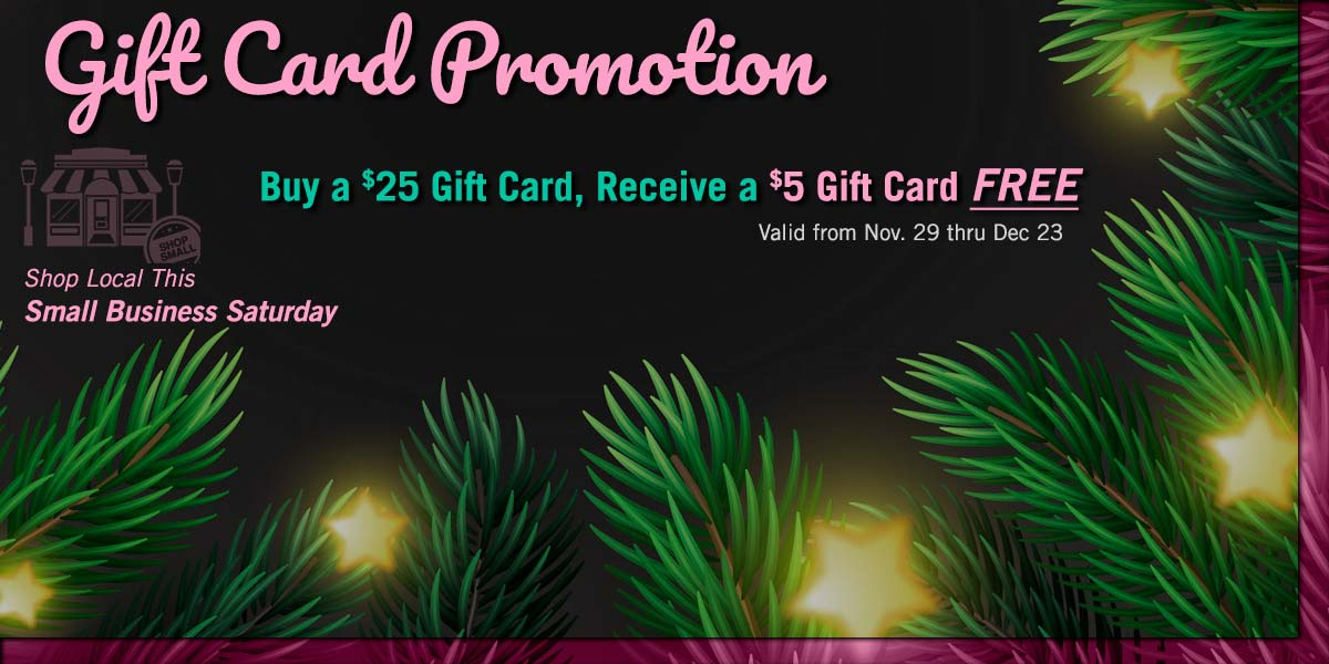 Buy a $25 Zesty's Gift Card and Get a $5 Gift Card for Free