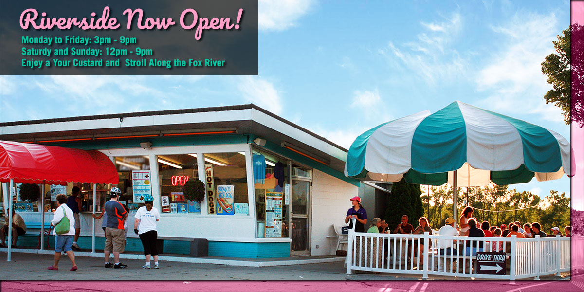 Zesty's on Riverside Dr in De Pere is Open for the Season!