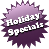 Holiday Specials at Zesty's