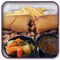 Featured - Italian Beef Sandwich at Zesty's